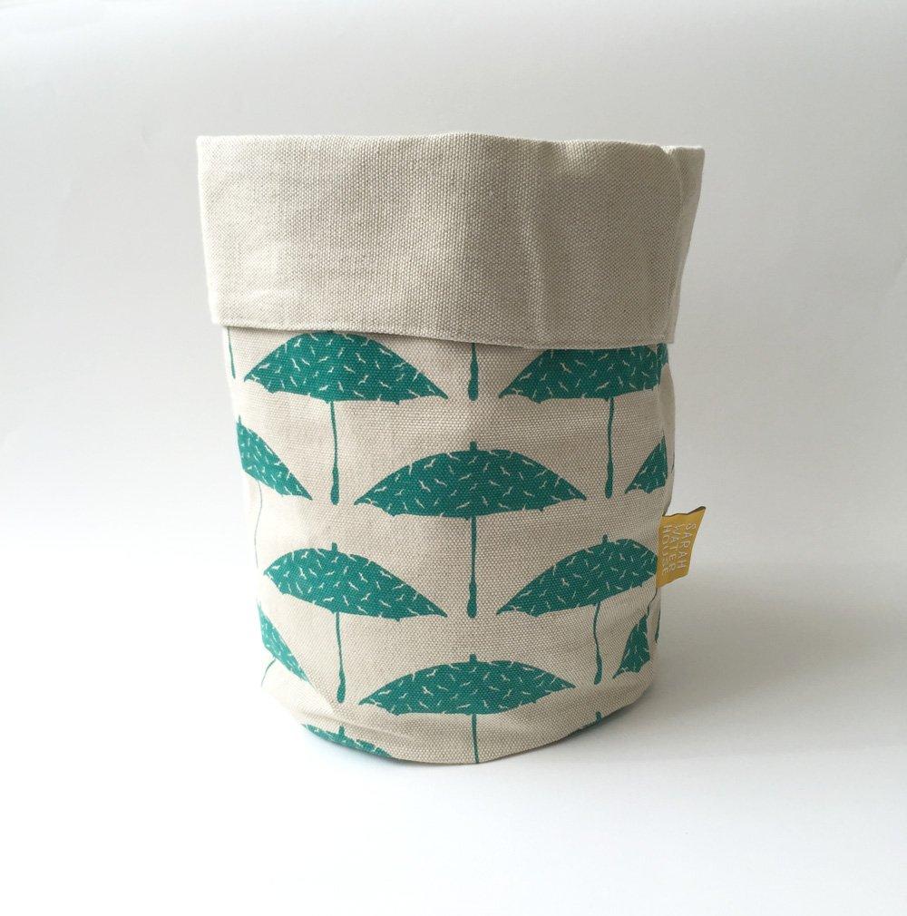 Reversible Fabric Storage Basket Medium | Sarah Waterhouse